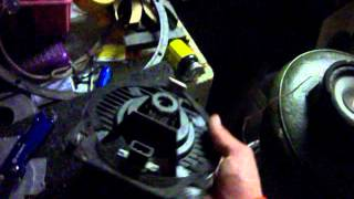 Speaker Break Down and comparison from a 2001 Honda Civic EX