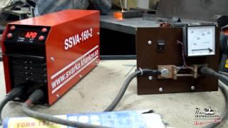 SSVA 160 2   электрод УОНИ(SSVA 160 2 электрод УОНИ http://youtu.be/cxnv8Dwri30 Инверторные источники сварочного тока SSVA (ССВА) Микропроцессорное..., 2015-05-13T10:35:35.000Z)