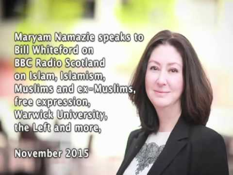 Maryam Namazie's Interview with Radio Scotland