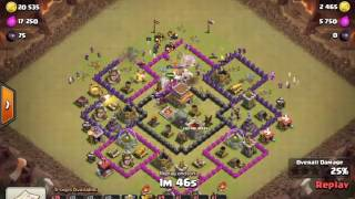 Clash of Clans - part 11 - updated townhall 7 layout and war replays