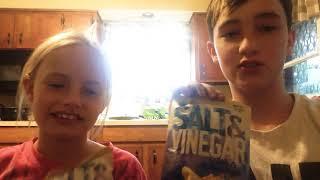 Salt in vinegar chip challenge