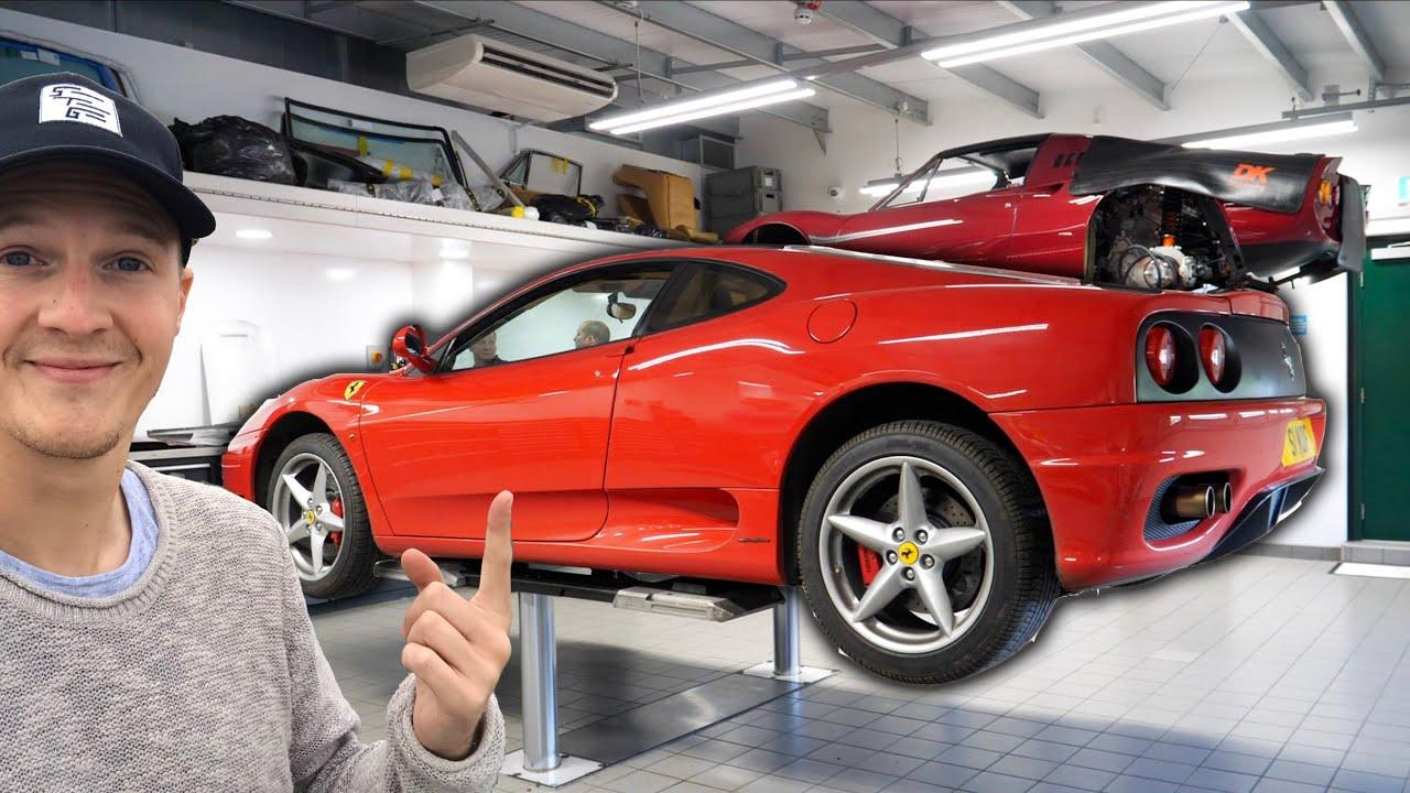 Restoring My 20-year-old Ferrari 360   Episode 1