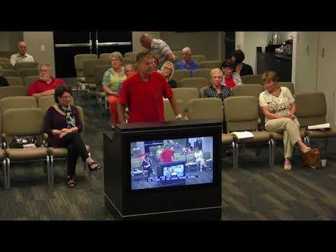 Third Laguna Hills Mutual Board Meeting 09/19/2017