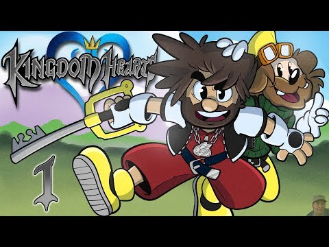 Kingdom Hearts | Let's Play Ep. 1 | Super Beard Bros.