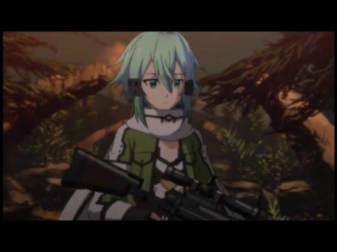 Sword Art Online II - Kirito Laser Fight On GGO - Vostfr