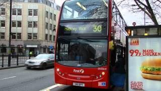 Route 30 London Buses 8 January 2013