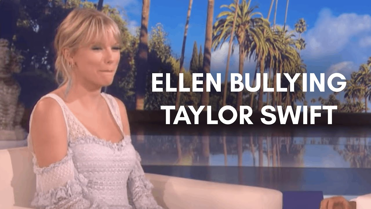 ellen bullying taylor swift for 5 minutes straight
