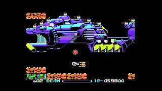 MSX実機で[R-TYPE」1~4面