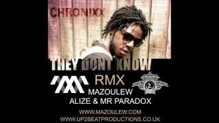 CHRONIXX -THEY DONT KNOW JUNGLE RMX MAZOULEW & UP2BEAT