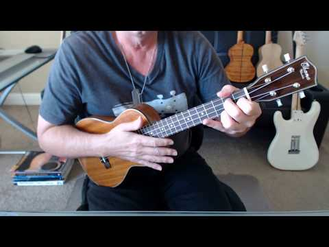 Five Foot Two Eyes Of Blue Ukulele Tab Preview Youtube