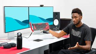 The MKBHD Desk Setup Tour 2021!