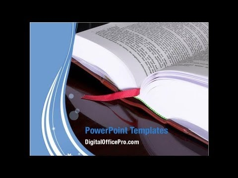 Open Book Powerpoint Template Backgrounds Digitalofficepro 00569