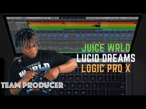 Juice WRLD - Lucid Dreams (Logic Pro X Remake + FREE DOWNLOAD)