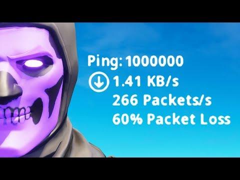 Fortnite On 1000000 Ping