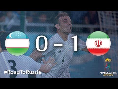 Uzbekistan vs Iran (Asian Qualifiers - Road to Russia)