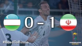 Video Gol Pertandingan Uzbekistan vs Iran