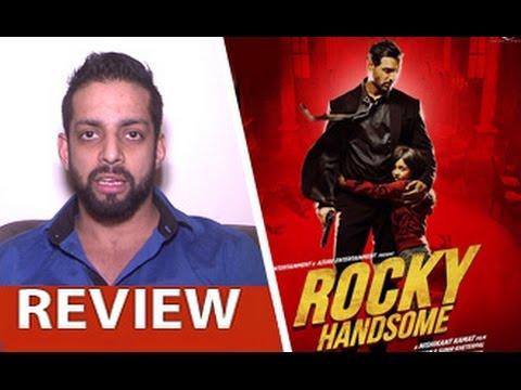 Rocky Handsome Review by Salil Acharya | John Abraham, Shruti Haasan, Nishikanth | Full Movie Rating