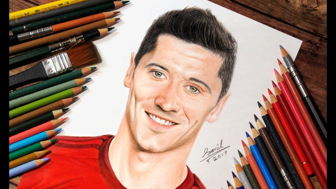 Drawing Lewandowski        Featured On  U0026quot Givemesport