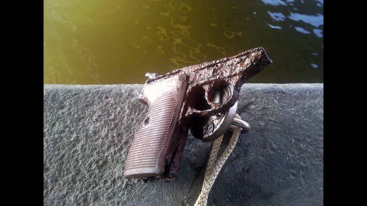 magnet fishing ww2 finding gun walther p38 n lez