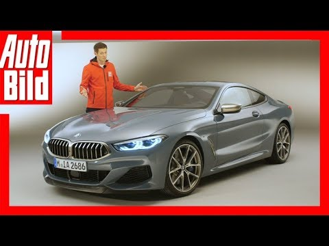 BMW 8er (2018) M850i xdrive (G15) Review / Details / Sitzprobe
