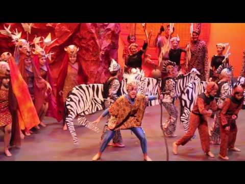 "The Lion King Musical 2015 ""Circle of Life"""