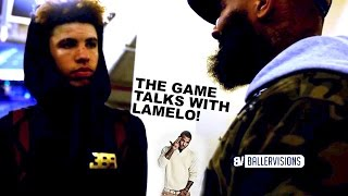 The Game Gives LaMelo Ball Advice After Loss to Mater Dei + Loss Reaction (Footage from @DylanSTW__)