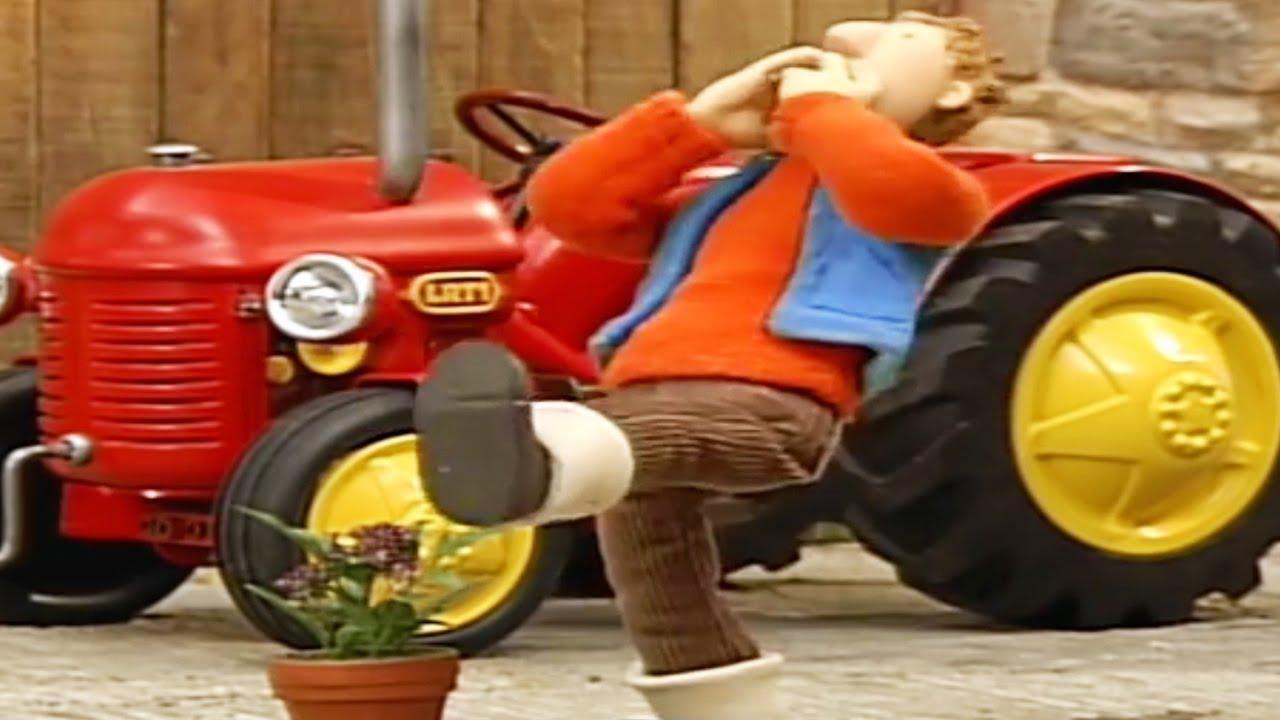 Kleiner Roter Traktor Bilder Zum Ausdrucken