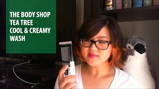 The Body Shop Tea Tree Cool & Creamy Wash Review | Beauty Blossom Thumbnail