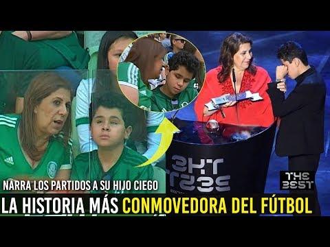 MADRE NARRA LOS PARTIDOS A SU HIJO CIEGO, LOS MEJORES HINCHAS DEL MUNDO | THE BEST