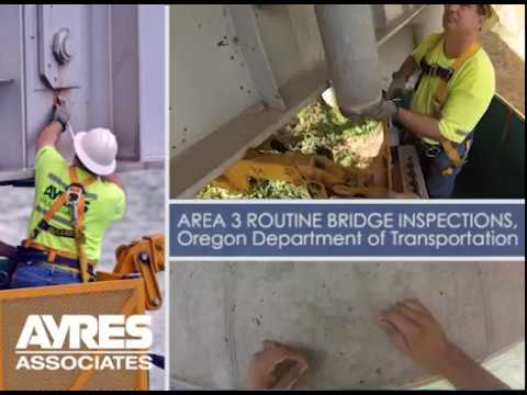 Oregon Department of Transportation Area 3 Bridge Inspections Project Profile Video