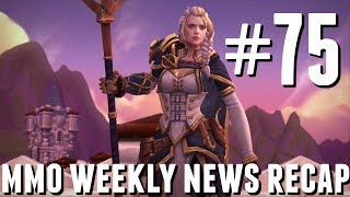 MMO Weekly News Recap #75 | Diablo III, Battle for Azeroth, Wolfhunter DLC and More!