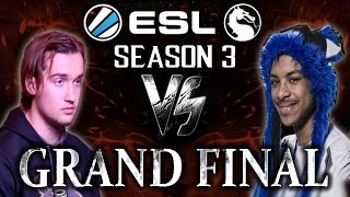 Mortal Kombat XL: ESL Season 3 - Grand Final - SonicFox vs Jupiter!
