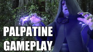 Star Wars Battlefront - Palpatine Gameplay