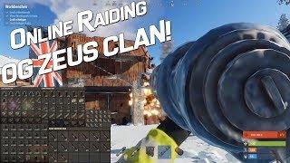 ONLINE RAIDING OG ZEUS CLAN! BOX OF GP & ROCKETS! 9v8 RAID   RUSTAFIED.COM