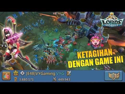KOK JADI KETAGIHAN MAININ GAME INI ?!? + VOUCHER REEDEM CODE - LORDS MOBILE INDONESIA