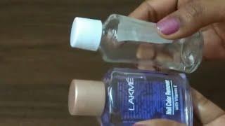 Lakme Nail Paint Remover vs Ordinary Nail Paint Remover -Review amp Demo of Lakme nail Paint Remover