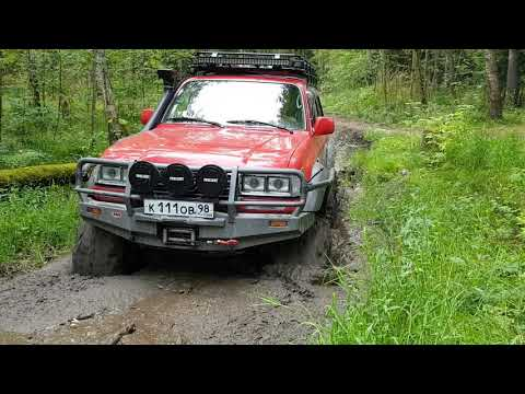 "Fj80 on 40"" Bogger mudding and game over"