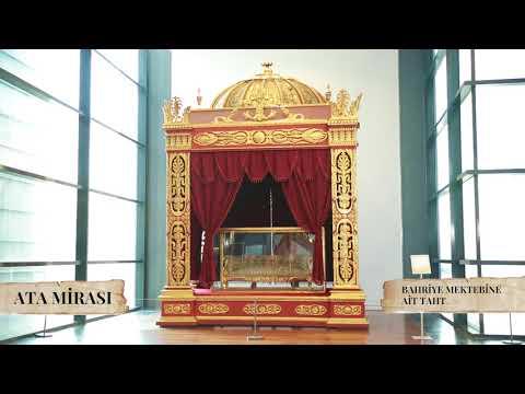 Ata Mirası | Bahriye Mektebine Ait Taht