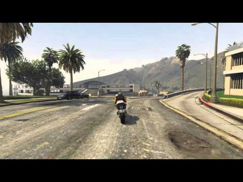 GTA5 Stunt Jump One