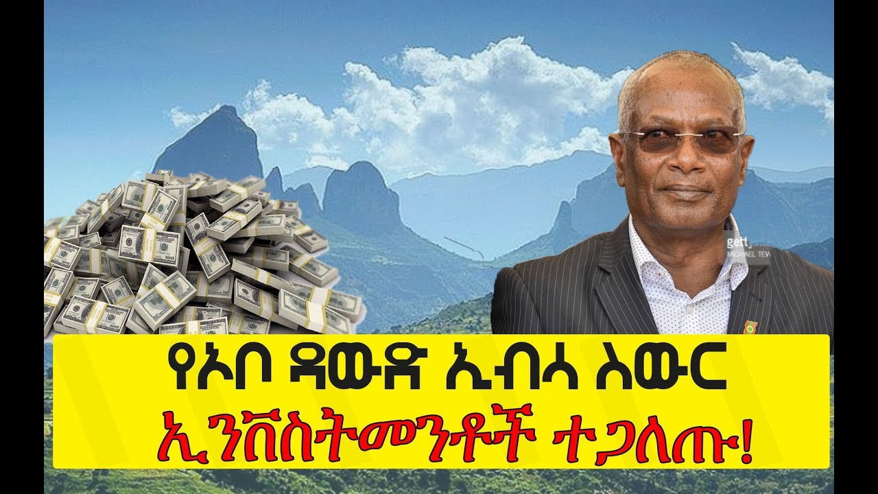 Investments in Ethiopia owned by OLF leader Ato Dawud Ibsa