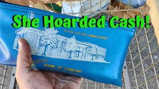 Hoarder Storage Unit Pays Off! She Hoarded Cash I Found More Money Gold Diamonds