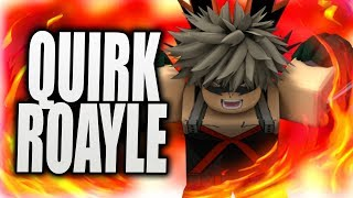NEW MY HERO ACADEMIA GAME! | All Quirks in QUIRK ROYALE [ROBLOX] | iBeMaine