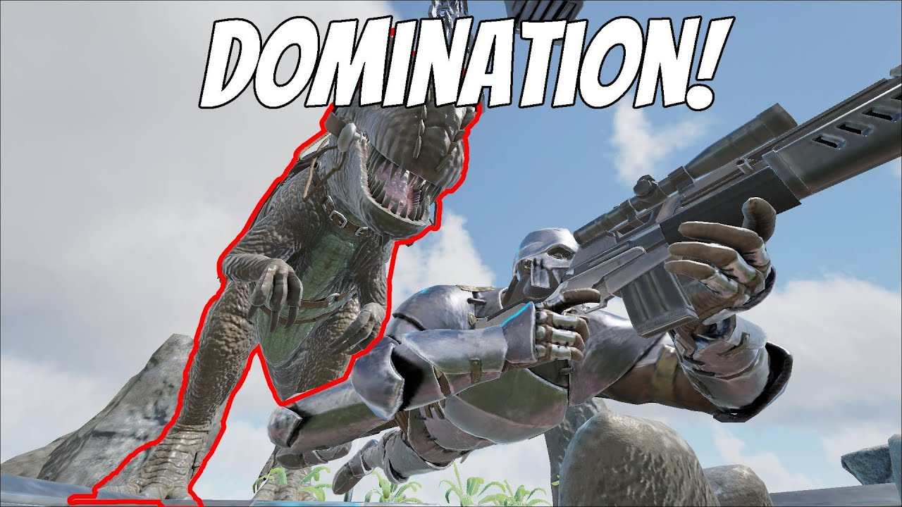Dominating On Ragnarok! | Ark Official PvP