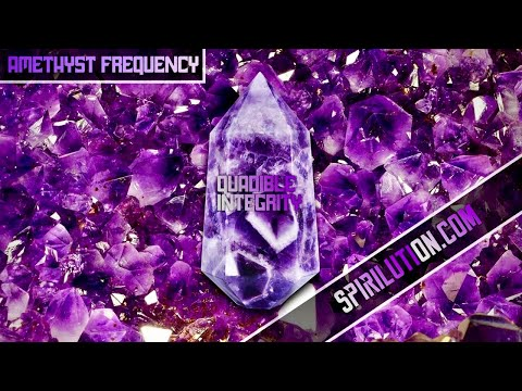(crystal-healing-music)-★amethyst-crystal-frequency-hz-music★-(32876000hz-288hz-128hz-7.83hz)
