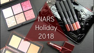NARS Holiday 2018: Live Swatches & Review
