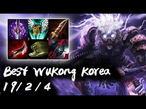 Best Wukong Korea Top vs Jayce | Korea High Elo