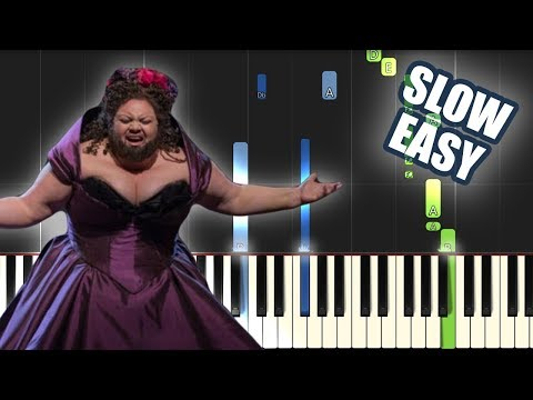 This Is Me - The Greatest Showman Cast | SLOW EASY PIANO TUTORIAL by Betacustic