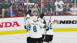 NHL 19 - San Jose Sharks Vs Colorado Avalanche Gameplay - Stanley Cup Playoffs Game 6 May 6, 2019
