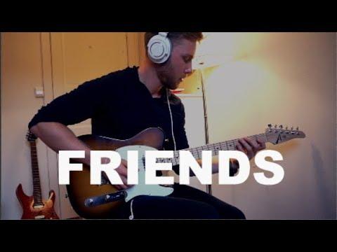 Justin Bieber Bloodpop Friends Electric Guitar Cover