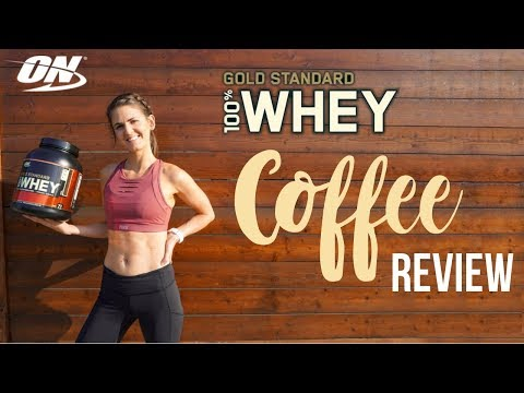 on-gold-standard-whey-|-coffee-protein-taste-review